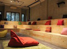 Co-Working Space dengan mini theater