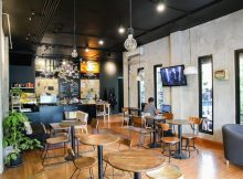 Ruang Event Kekinian di Ruang 3 Serangkai DKRB Cafe Halimun